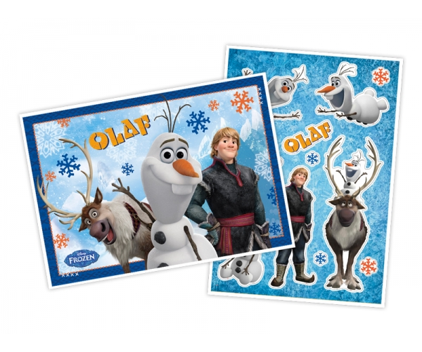 KIT ANIV DECORATIVO PAPEL - OLAF