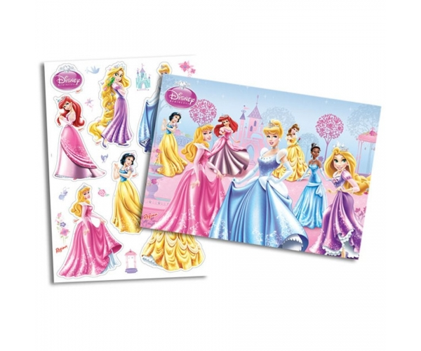 KIT ANIV DECORATIVO PAPEL - PRINCESAS